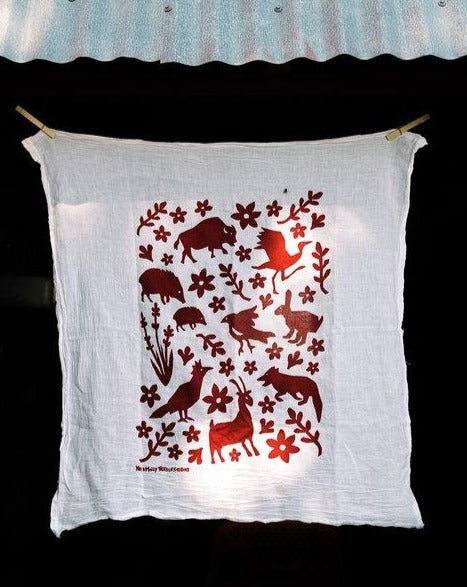 Bison & Friends Dish Towel