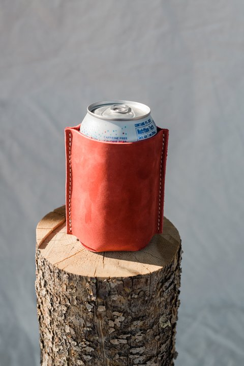 Stubby Holder in Red