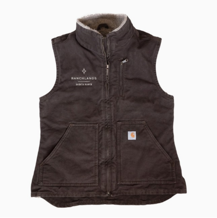 Carhartt Fleece-Lined Vest Women's
