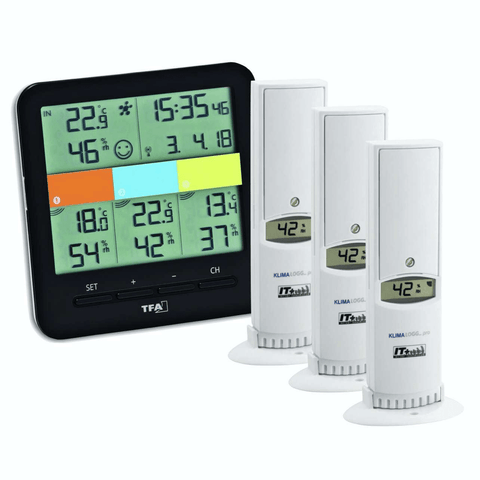 TFA KLIMA @ Home 3 Channel Temperature Station (30.3060.01.IT) Weather Spares