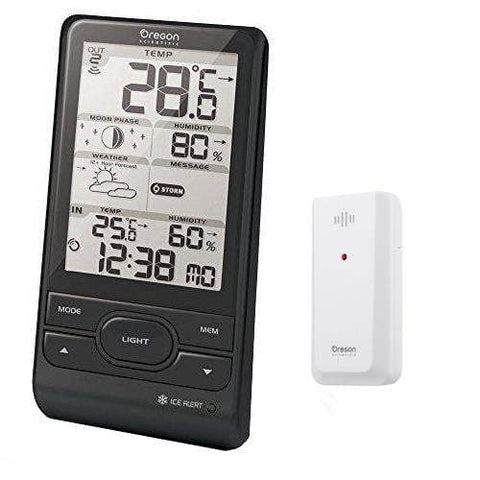 Oregon Scientific Weather Station with multiple Weather Alerts (BAR208HGX) - Weather Spares