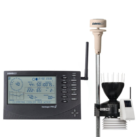 Davis Vantage Pro2 Wireless Weather Station with Sonic Anemometer 6152UK 6415 Weather Spares