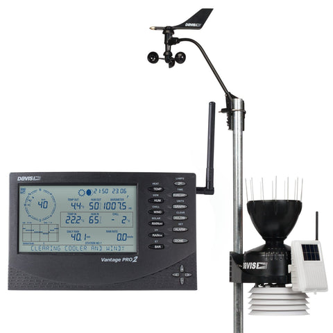 Davis Vantage Pro2 Wireless Weather Station (6152UK) - Weather Spares