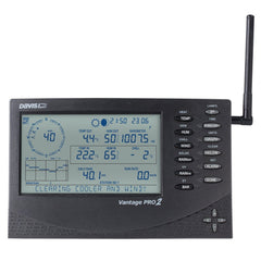 Davis Vantage Pro2 wireless weather station console with UK PSU (6312UK) Weather Spares