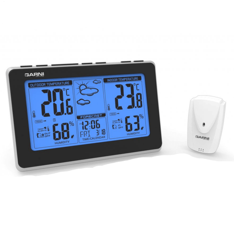 GARNI technology,GARNI 550 Easy Weather Station with USB Charging (550),weather-spares-uk