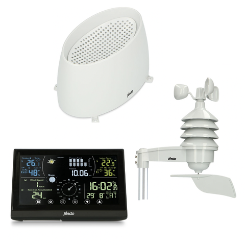 Alecto WS-3850 Colour Full Featured Weather Station (WS-3850)