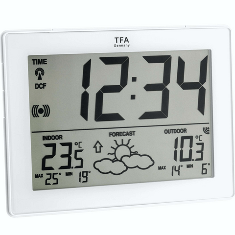 TFA - TFA METRO Large Screen Weather Station (35.1125.02) - weather-spares-uk