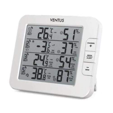 Ventus Climate Monitor Weather Station with 3 sensors (W210)