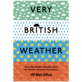 Very British Weather Book by UK MetOffice (Hardcover 256 pages) Weather Spares