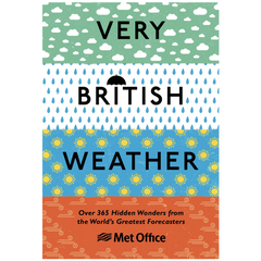 Very British Weather Book by UK MetOffice (Hardcover 256 pages)