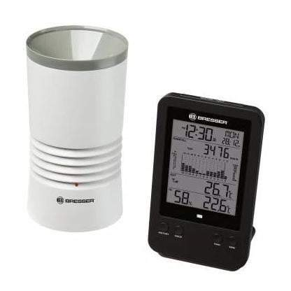 Bresser Professional Rain Gauge with Temperature - Weather Spares