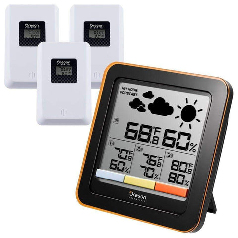 Oregon Scientific - Oregon Scientific Multi-Zone Weather Station (RAR502X) - weather-spares-uk
