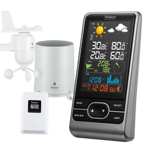 Oregon Scientific Colour Multi-sensor Professional Weather Station (WMR86NSX) - Weather Spares