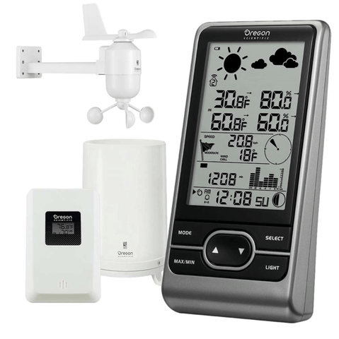 Oregon Scientific Multi-sensor Professional Weather Station - expandable (WMR86NX)