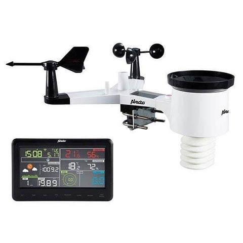 Alecto WS-5500 Colour WiFi Internet Weather Station (WS-5500) - Weather Spares