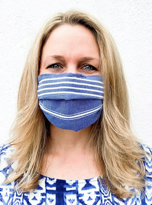Face Masks: Reusable, Washable, Eco-Friendly made from Organic & Recycled Turkish Cotton