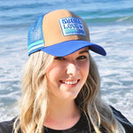 Shaka Love CORK Hat with Patch, Organic & Recycled Materials, 100% ECO-friendly