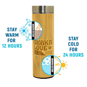 Bamboo Tumbler with Tea/Fruit Infuser - 17 ounces