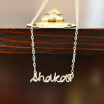 Sterling Silver Hand Made Necklace (Shaka Love-Limited Edition)