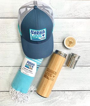 Endless Summer Package #1: Includes Hat, Towel, & Bamboo Tumbler