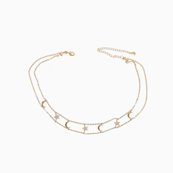 Moon Band Choker