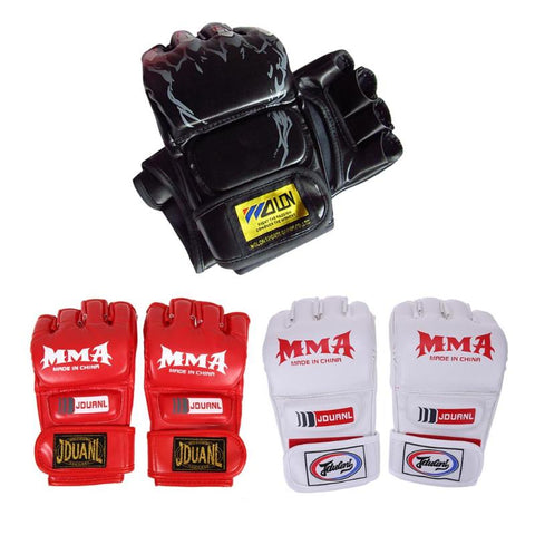 PU Boxing Gloves Adult Boxing Training