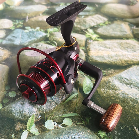 Fishing Reel 12BB + 1 Bearing Balls 500-9000 Series Metal Coil Spinning Reel Boat Rock Fishing