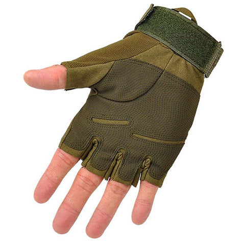Outdoor Sports Fingerless Military Tactical Hunting Riding Gloves New Arrival