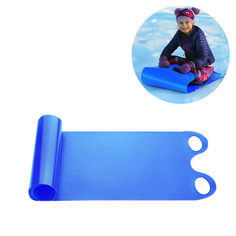 For Adult Children Snow Sled Cold Roll Up Board Toy