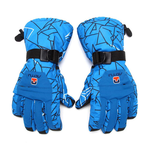 Windproof Waterproof Winter Ski Gloves Men Winter Snow Skiing Cycling Cycle Gloves