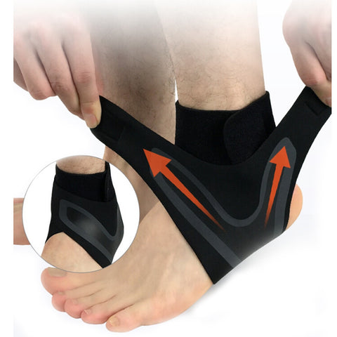 Elastic Ankle Support Adjustable Breathable Ankle Brace Support