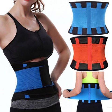 Unisex Adjustable Elstiac Waist Trainer Belt