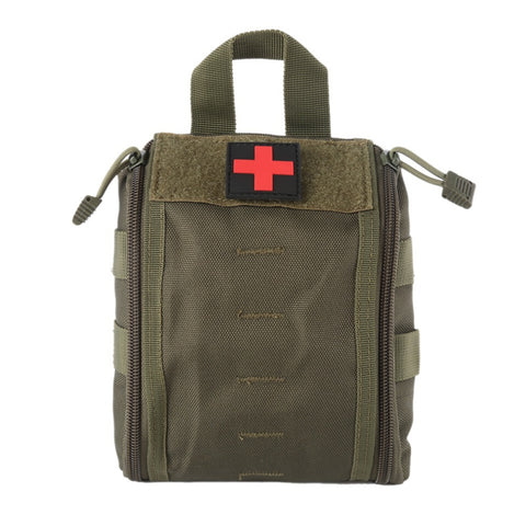 Outdoor First Aid Kit Army Camouflage Hiking Climbing Medical Package