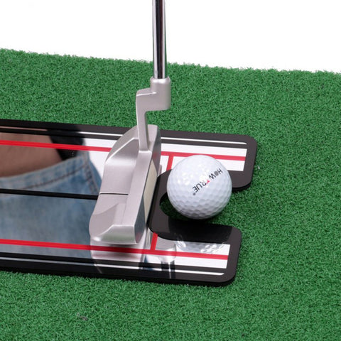 USA Ship Golf Training Aid  Putting Mirror Alignment Swing Swing Straight Practice Eye Line