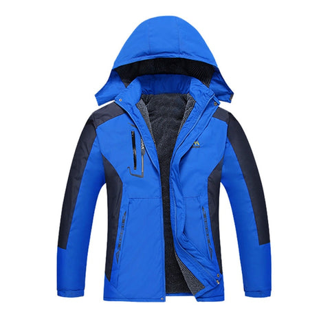 2019 Hot Men Waterproof Windproof Outdoor Sports Warm Winter Thick Jacket Coat Wholesale
