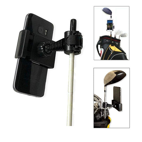 Golf Club Practice Records Accessories Phone Holder Golf Training Assistant Equipment Golf Record Holder Stand