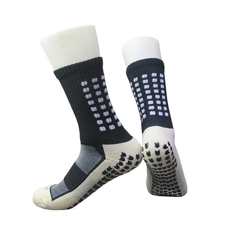 Men's Basketball Socks Knee-hight Towel Bottom Non-Slip Training Sports Socks Pressure Rubber Breathable Athletic Socks