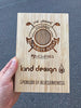 The Bamboo Golf Plaque