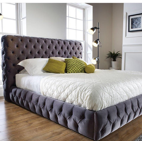Duchess Velvet Bed Frame - Ambassador Beds