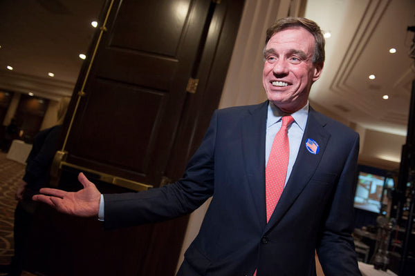Letter from U.S. Senator Mark Warner of Virginia about Industrial Hemp