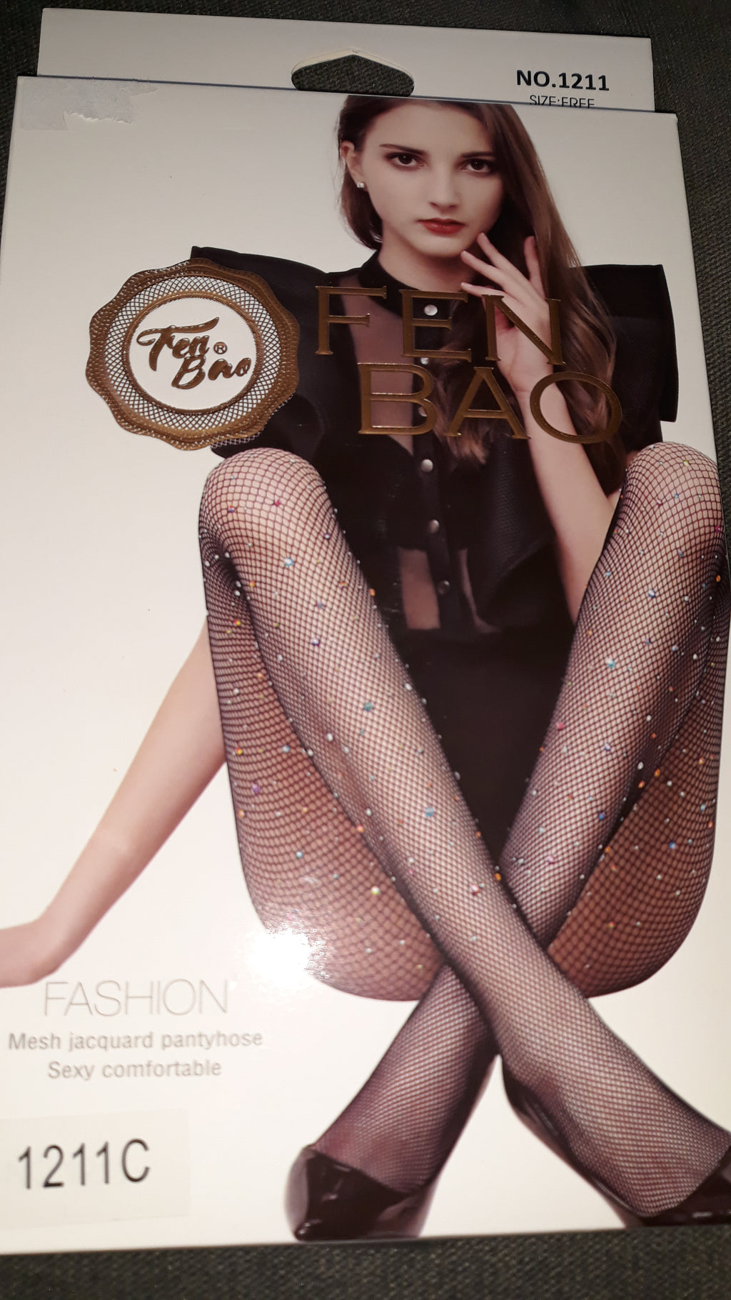 Fashion Rhinestone Pantyhose