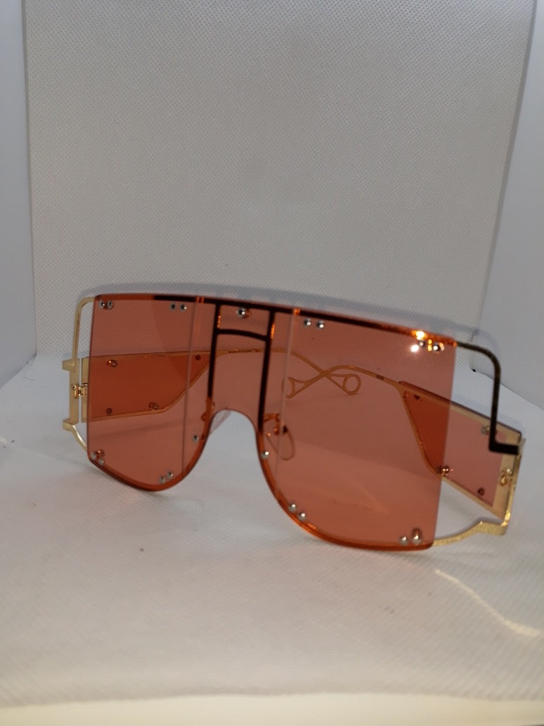 Sunglasses (orange, smoke tint)