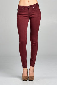 Ankle Skinny Front Jeans