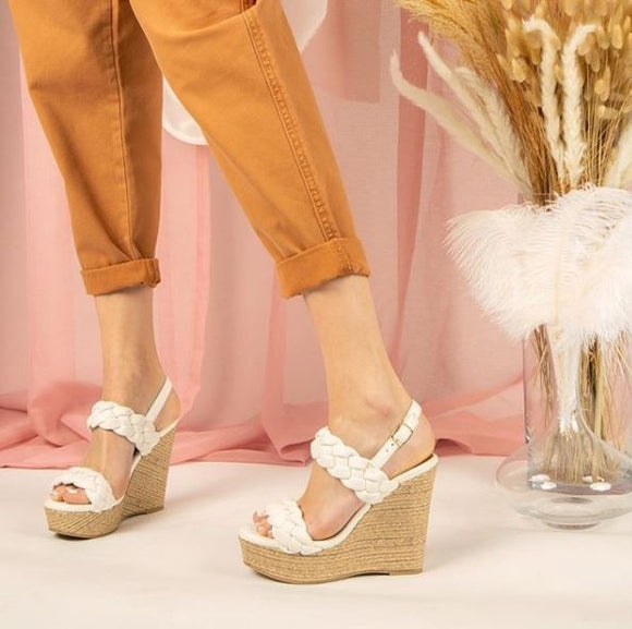 Braided Espadrille Wedge