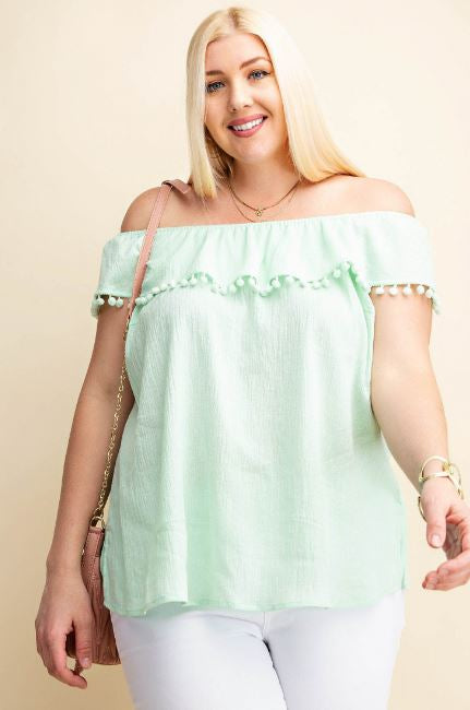 Sweet Southern Off Shoulder Top
