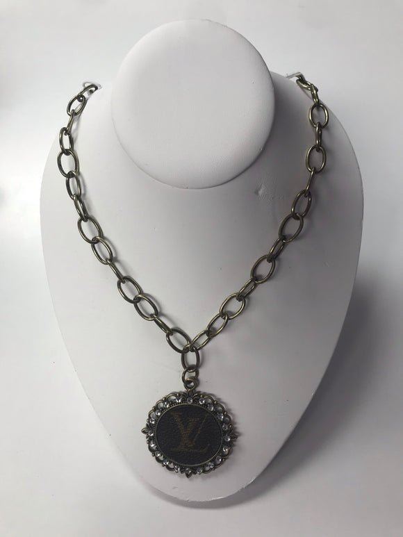 Chain Chain Chain LV Necklace