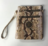 Keep it Gypsy LV Snake Print Crossbody