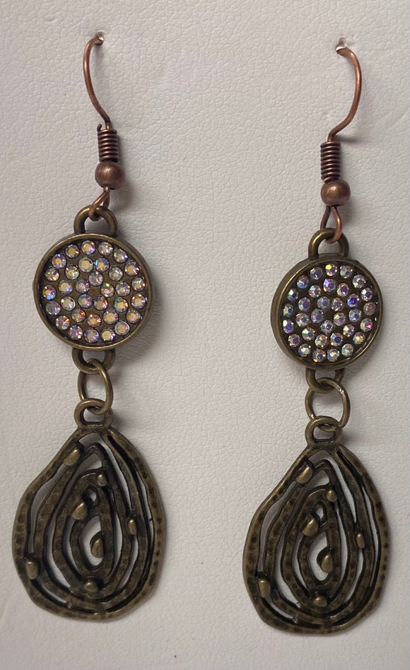 Bronze Diva Earrings