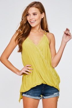 Crossed Front Cami Top