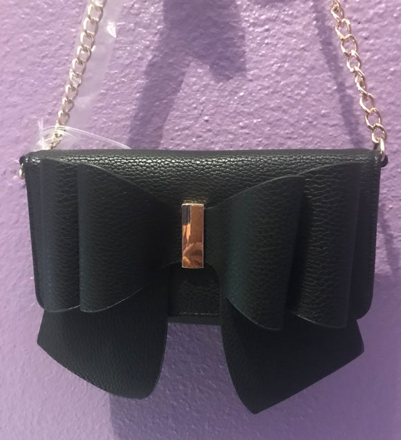 Bow Detail Wallet Crossbody